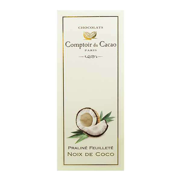 Comptoir Du Cacao Coconut White Chocolate(80g)