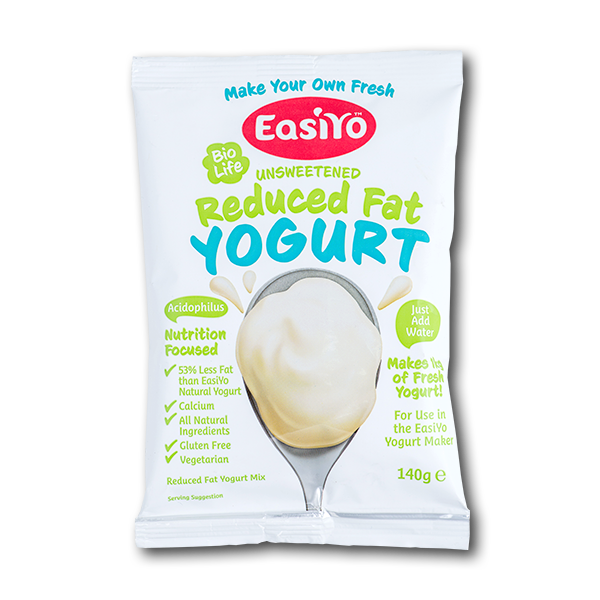 Easiyo Reduced Fat Unsweetened Yogurt Mix(140g)