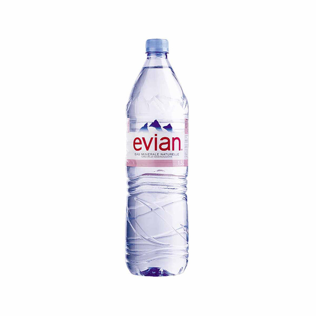 EVIAN Natural Mineral Water  (1.5L)