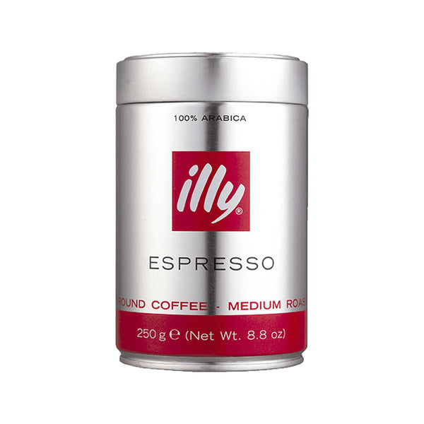 ILLY COFFEE Espresso Medium Roast Ground Coffee  (250g)