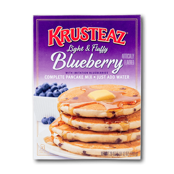 KRUSTEAZ Naturally & Artificially Flavored Blueberry Pancake Mix  (714g)
