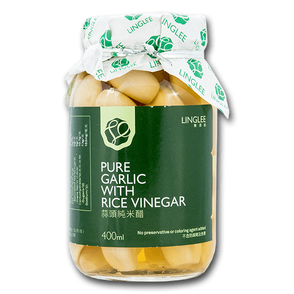 LING LEE Pure Garlic With Rice Vinegar  (400mL)