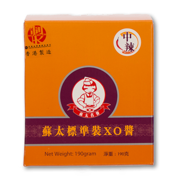 MRS. SO XO Sauce (Medium Spicy)  (190g)