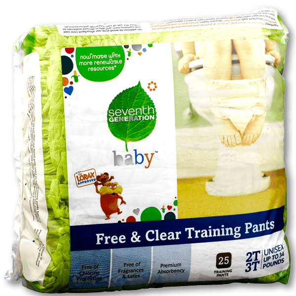 Seventh Generation Chlorinefree Training Pants