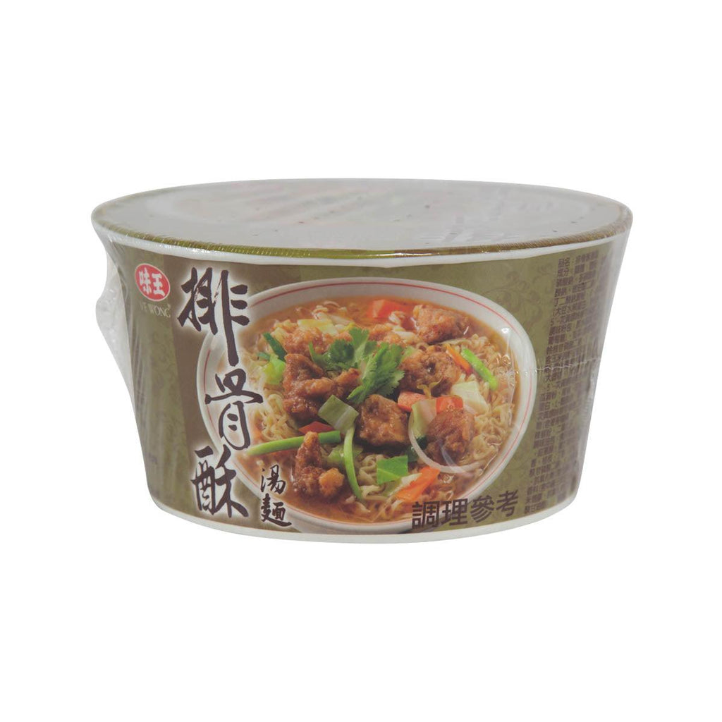 VE WONG Fried Pork Spareribs Flavored Noodle  (80g)