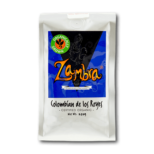Zambra Hand Crafted Coffee - Organic Colombian Del Los Reyes(250g)