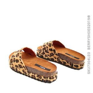 Sandalia alpargata animal - Berry shoes México - Plataforma - 7305LEO