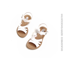Sandalia tres tiras - Berry shoes México - Kids - 6309BCO