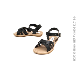 Sandalia tres tiras - Berry shoes México - Kids - 6309NGO