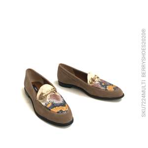 Mocasín herraje - Berry shoes México - Balerinas - 7224MULTI