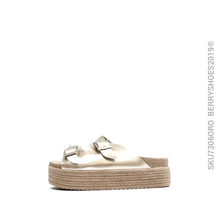 Sandalia confort - Berry shoes México - Sandalias - 7306MER