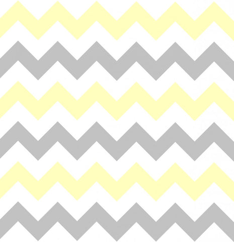 Bambella Designs | Harness Covers : Chevron Grey/Yellow