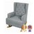 Bebe Care | Regent Chair & Rocker : Heather Grey