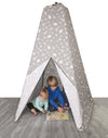Jolly Jumper | Teepee Tent : Animal Safari (Grey)