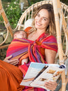 Hugabub | Traditional Mesh Ring Sling : Uluru Sunrise