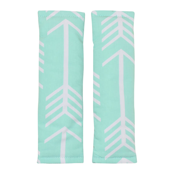 Bambella Designs | Harness Covers : Arrows Mint