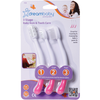 Dreambaby | F324 Toothbrush Set 3 Stage : Pink