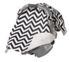 Jolly Jumper | Car Seat Veil : Black Chevron