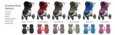 Britax | Affinity Colour Pack - Chilli Pepper Red