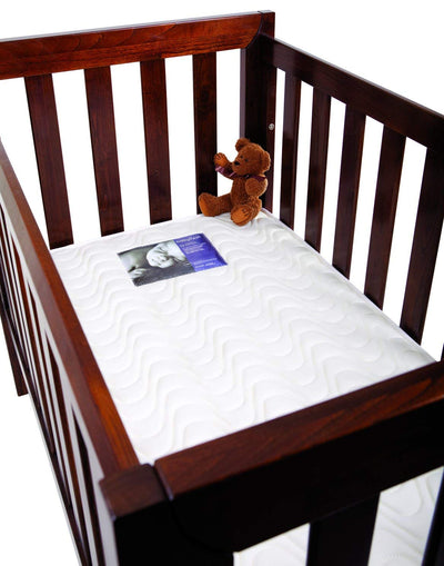 BabyRest | Deluxe Innerspring Cot Mattress Double Quilted : 1300 x 690 x 125