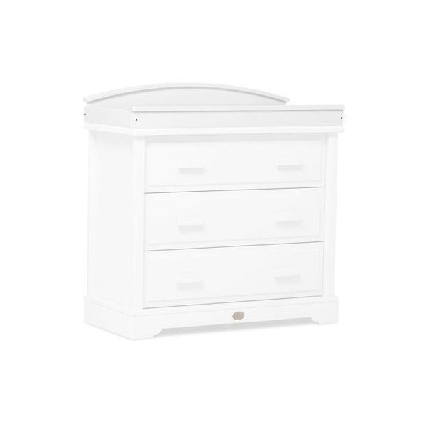 Boori | Arched Change Station For 3 Drawer Dresser : White