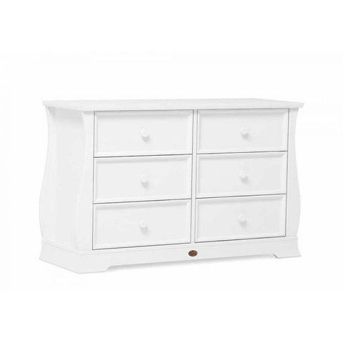 Boori | Sleigh 6 Drawer Dresser : White