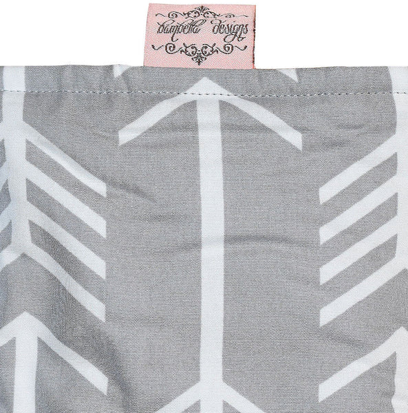 Bambella Designs | Footmuff : Arrows Grey