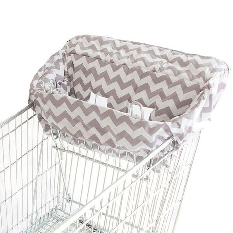 Bambella Designs | Trolley Liner : Chevron Grey