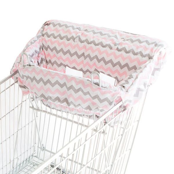 Bambella Designs | Trolley Liner : Chevron Pink