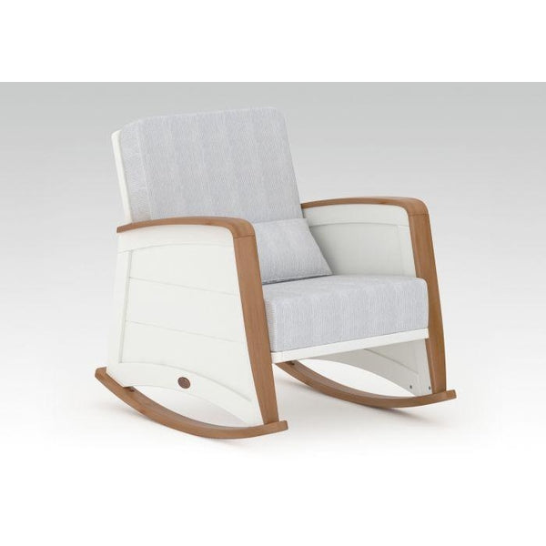 Boori | BK Crescent Rocking Chair : Cream/Pecan