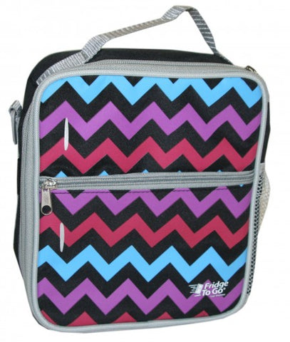 Fridge to Go | Medium Lunch Bag : Chevron