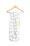 Heybaby | Bamboo Printed Swaddle Wrap : Egg Shade