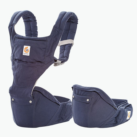Ergobaby | Six Position Hip Seat Baby Carrier : Twilight : Blue