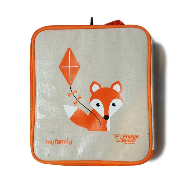 My Family Lunch Bag by Fridge to Go | Medium/Fox