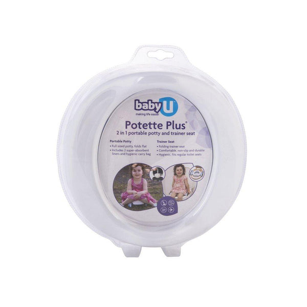 Baby U | Potette Plus : 2 in 1 Portable Potty Trainer Seat