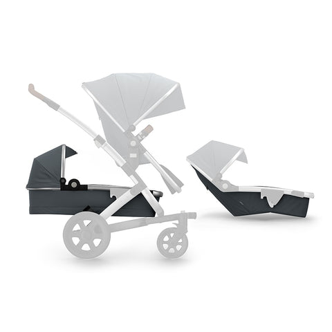 Joolz | Geo2 Pram Expandable Set | Earth Collection : Hippo Grey