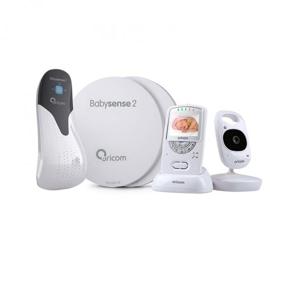 Oricom | Babysense2 + Secure710 Monitor Package