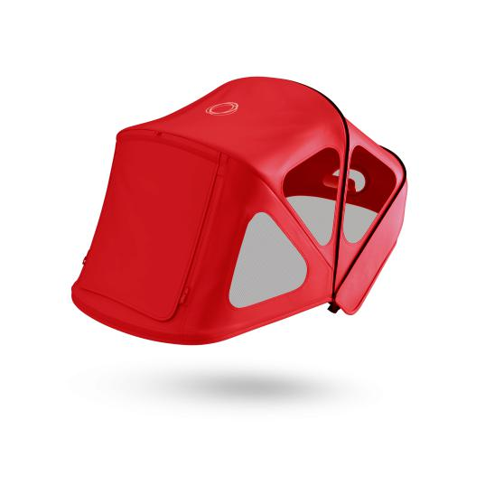 Bugaboo | Fox and Cameleon3 Breezy Sun Canopy : Neon Red