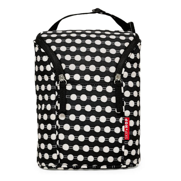 Skip*Hop | Grab & Go Double Bottle Bag : Connect Dots
