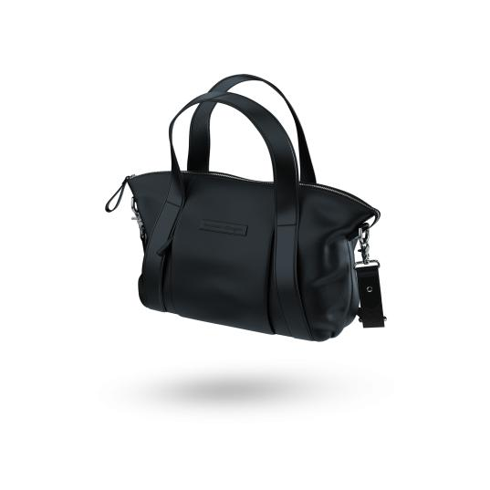 Storksak + Bugaboo | Leather Bag : Black