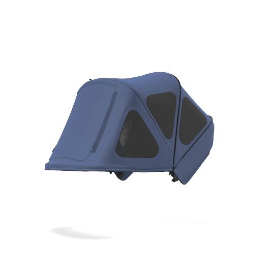 Bugaboo | Fox and Cameleon3 Breezy Sun Canopy : Sky : Blue