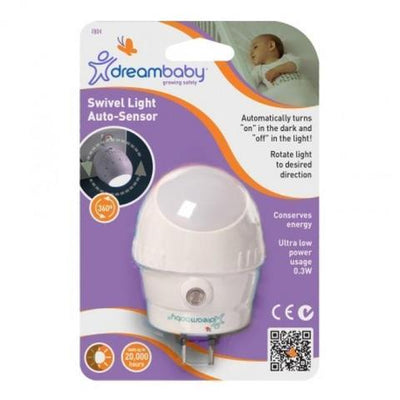 Dreambaby | F804 Swivel Auto Sensor Night Light