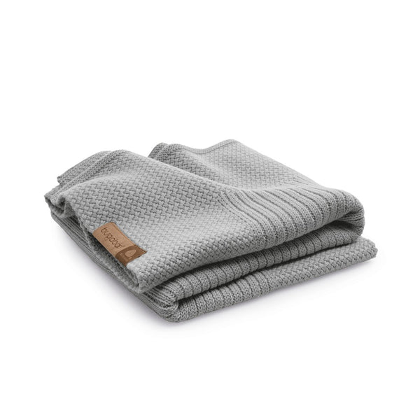 Bugaboo | Soft Wool Blanket Light : Grey Melange