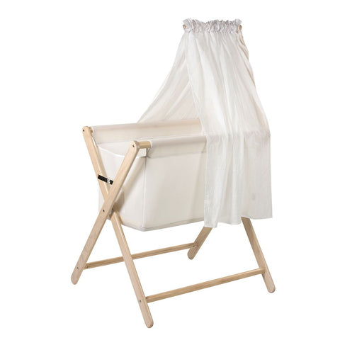 Mothers Choice | Coco Bassinet Air Mesh Flow Basket : White Wash