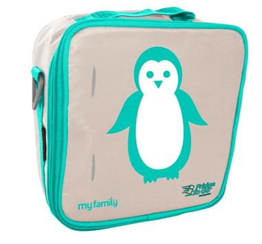 My Family Lunch Bag by Fridge to Go | Medium/Penguin