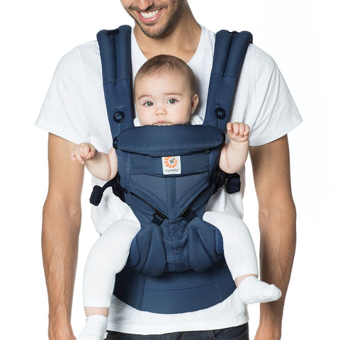 Ergobaby | All Positions Baby Carrier Omni 360 - Cool Air Mesh Midnight Blue