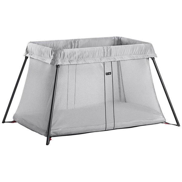 BabyBjorn | Travel Cot Light : Silver Mesh