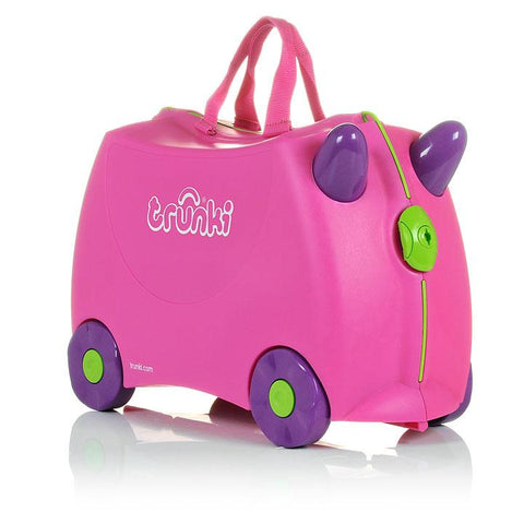 Trunki | Ride on Luggage : Trixie : Pink