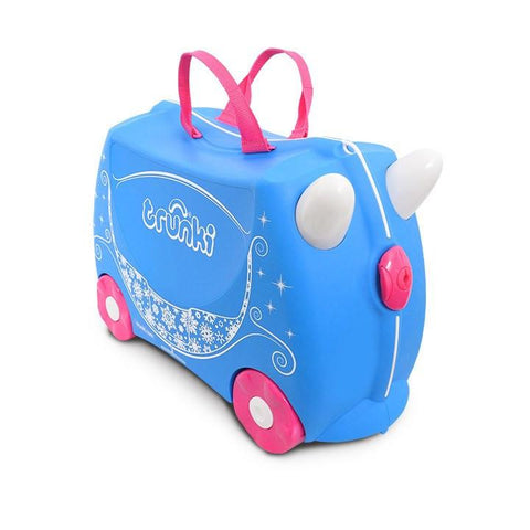 Trunki | Ride on Luggage : Princess Carriage Pearl
