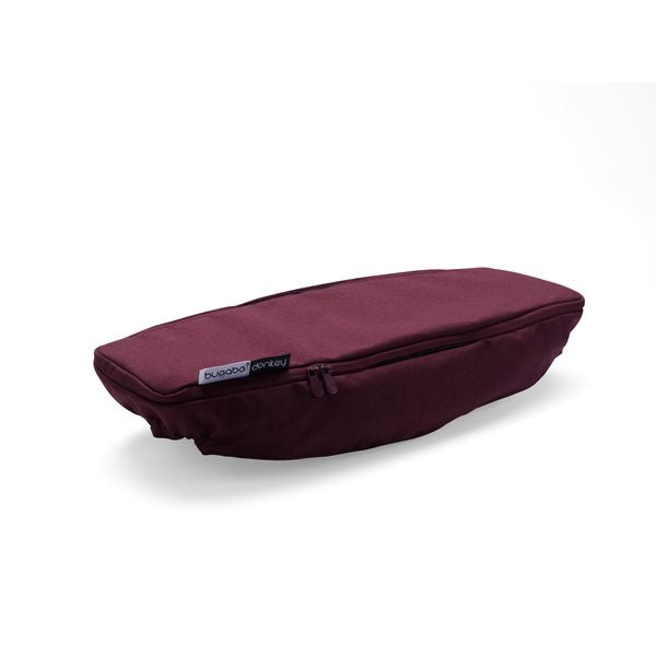Bugaboo | Donkey2 Side Luggage Basket Cover : Red Melange